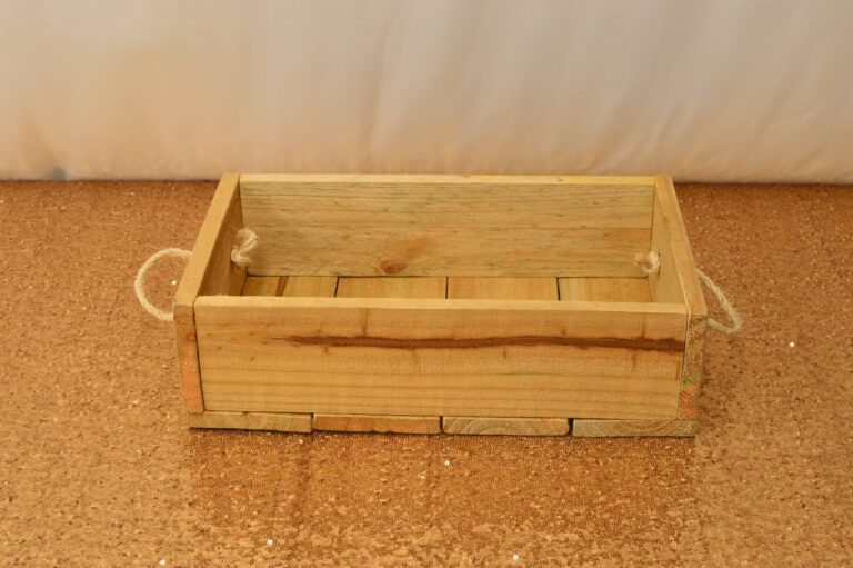 Low Crate with Handles