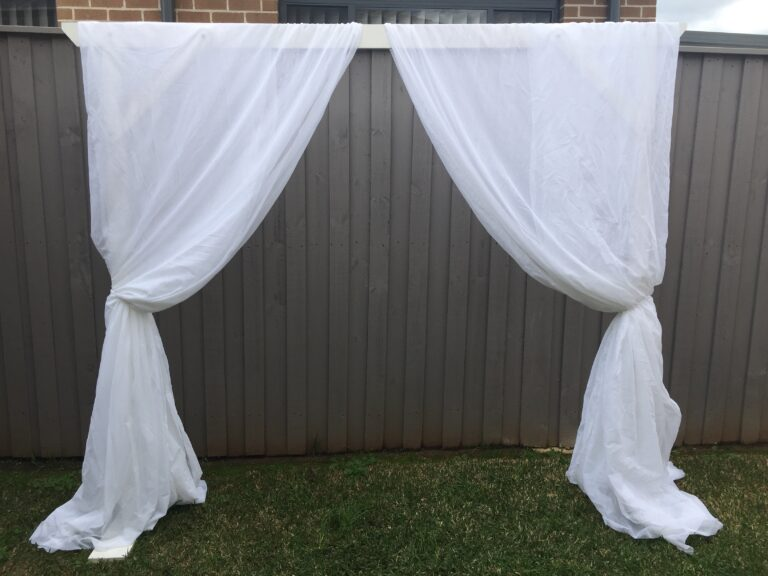 Arbour and Draping