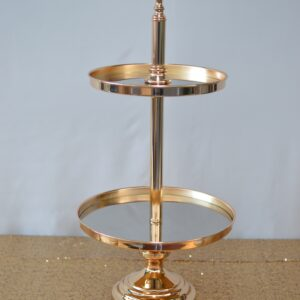 Gold Tier Cake Stand