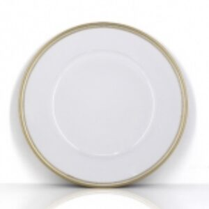 Gold Trim Charger Plate