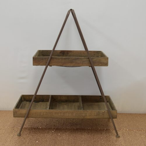 Rustic A-Frame Stand