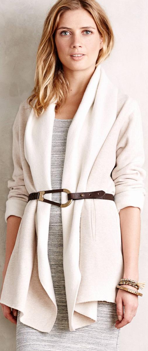 Anthropologie Fleece Wrap
