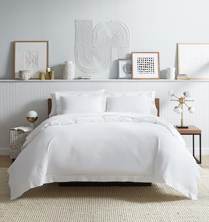 Sferra Analisa White Luxury Bedding