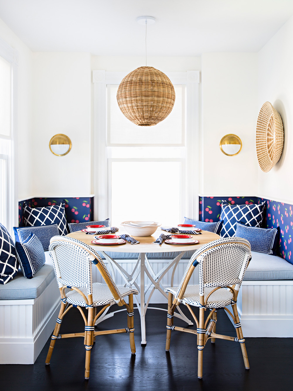 Blue in Scandinavian Design