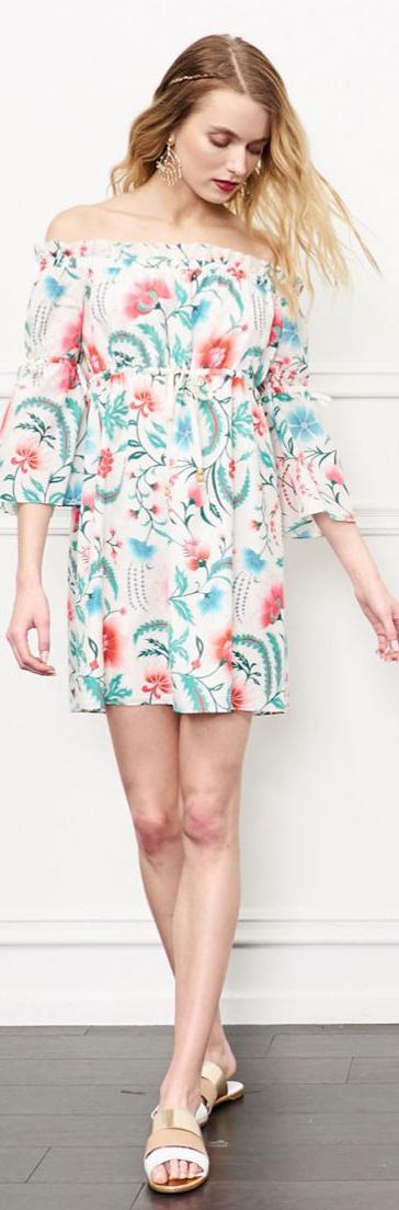 Rachel Zoe Danica Off-The-Shoulder Dress