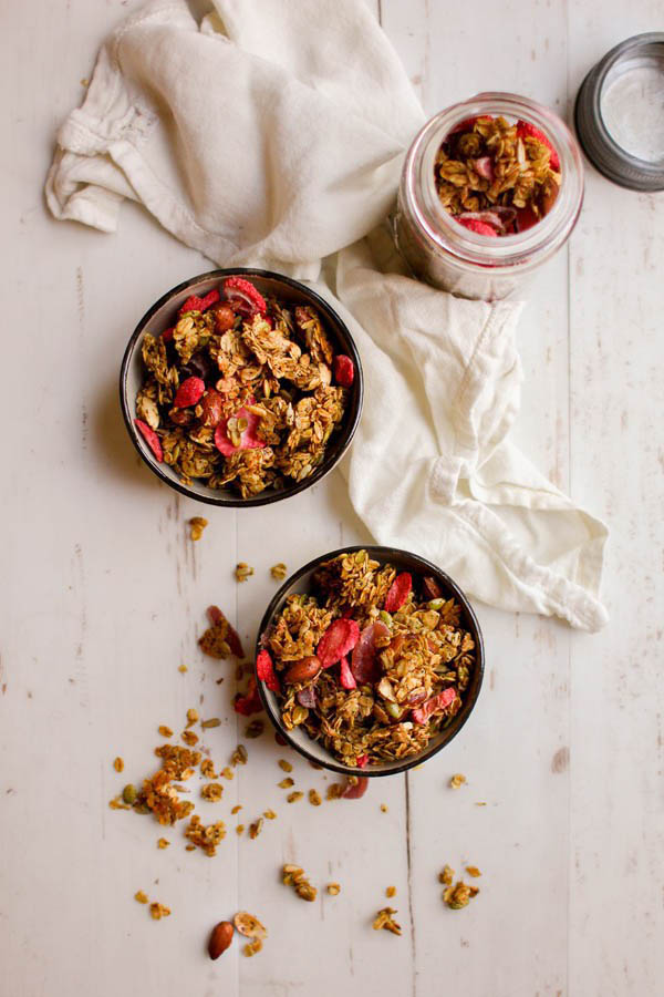 Earl Grey Strawberry Granola