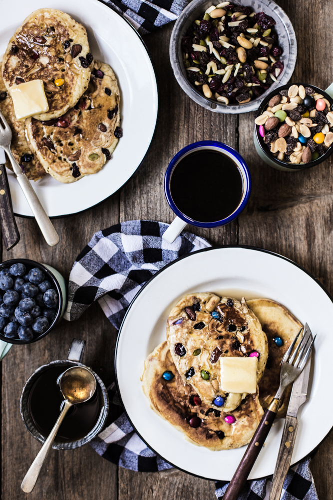 Trail Mix Pancakes