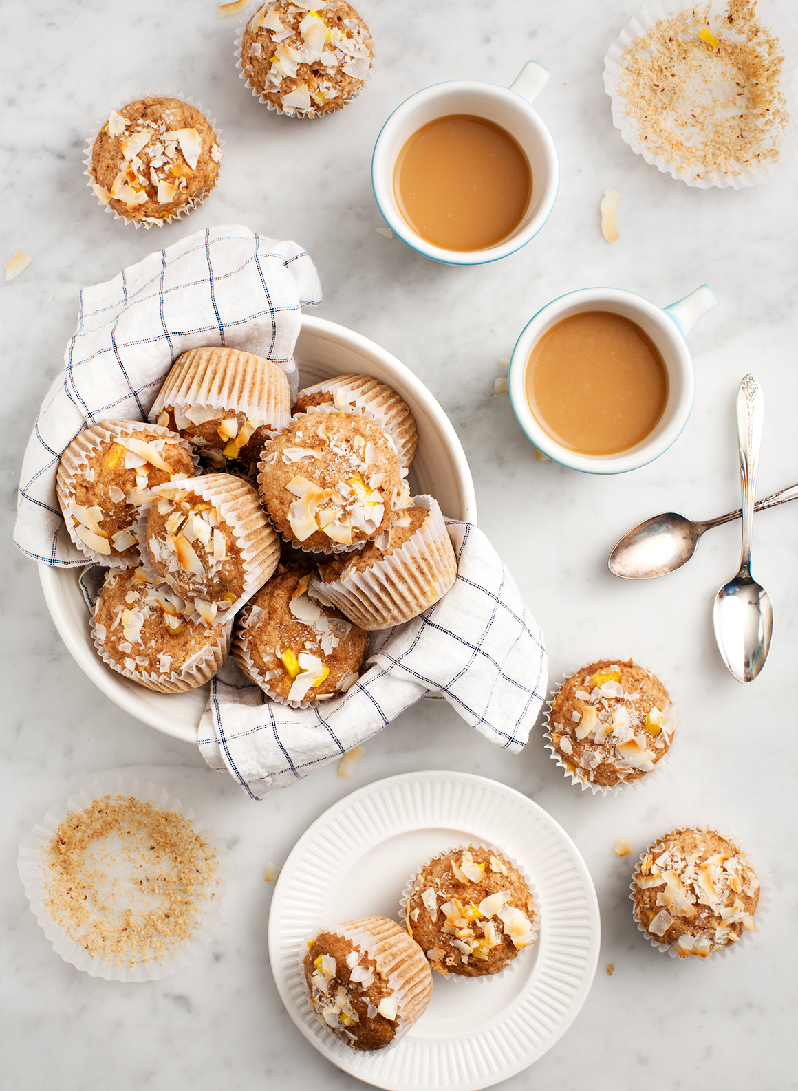 Coconut and Mango Breakfast Muffins