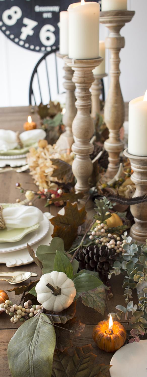 Neutral Farmhouse Fall Table