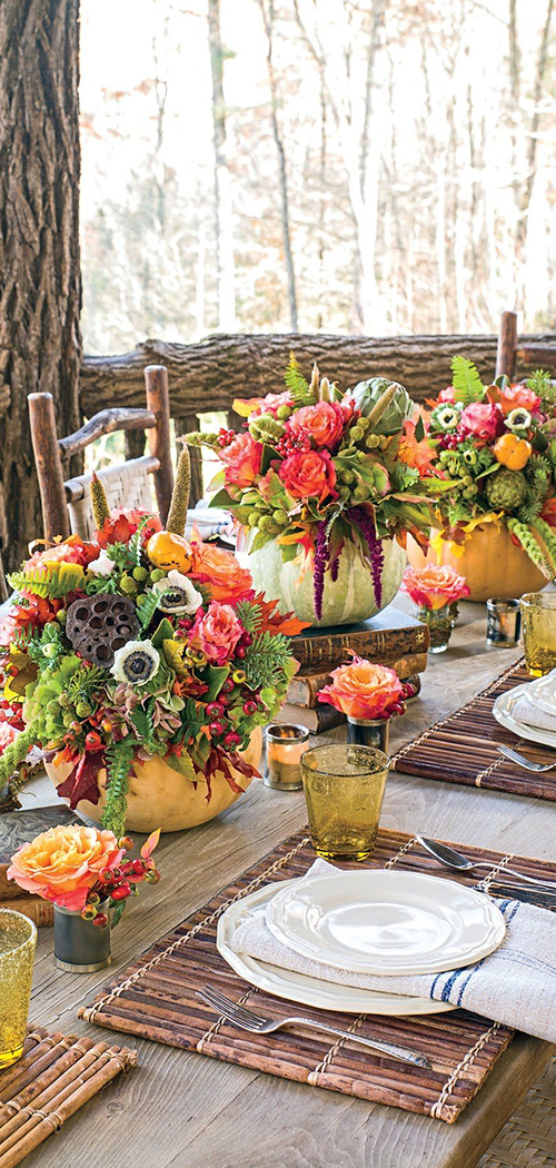 Nature Inspired Fall Tablescape