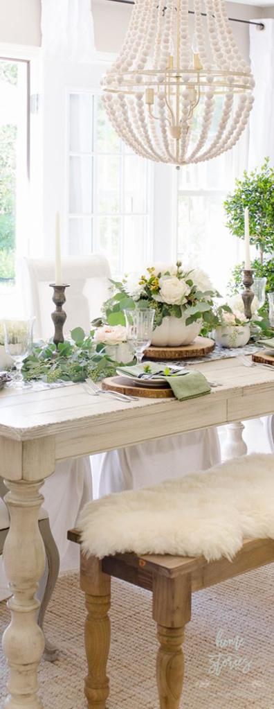 Elegant Farmhouse Fall Table
