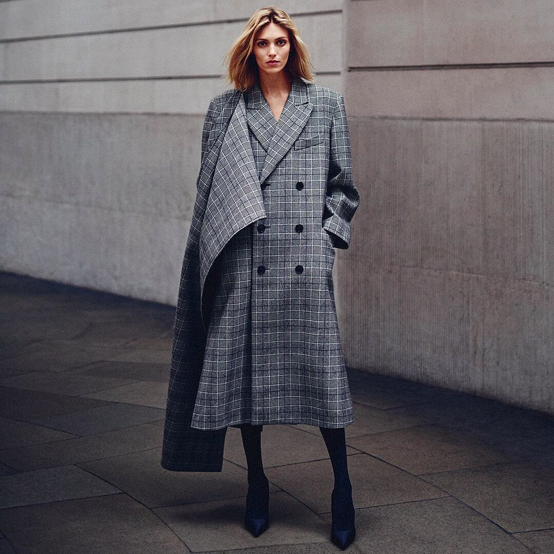 Fall Outerwear 2017 | Anja Rubik for Net-A-Porter