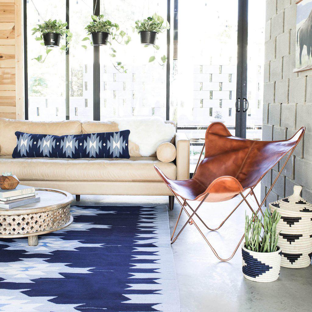 Bohemian Style Rug | Pedra Azul