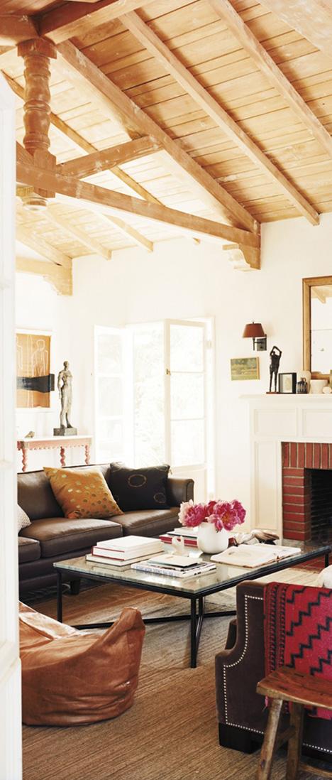 Nickey Kehoe Interiors | Rustic Bohemian Design