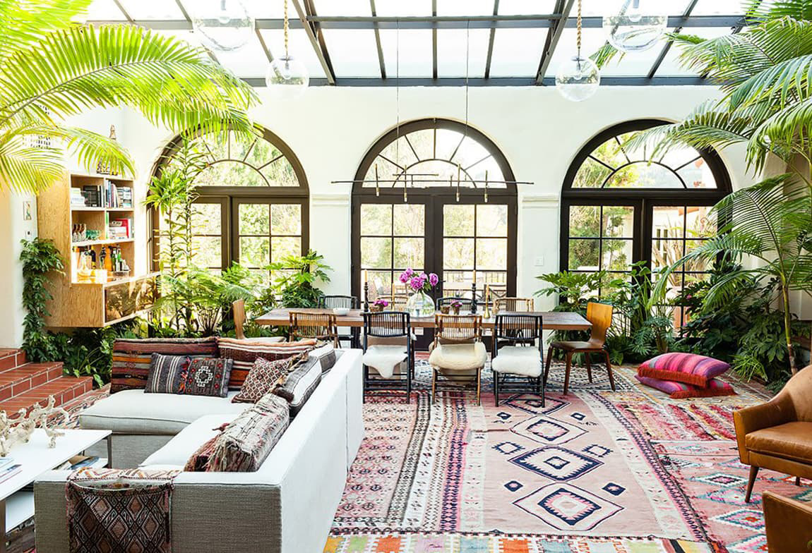 One King's Lane | Bohemian Living Room