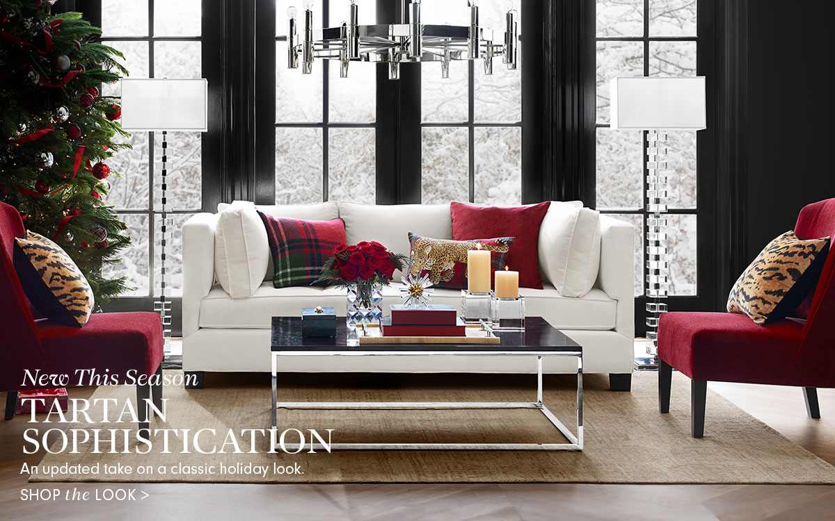Williams Sonoma Tartan Sophistication