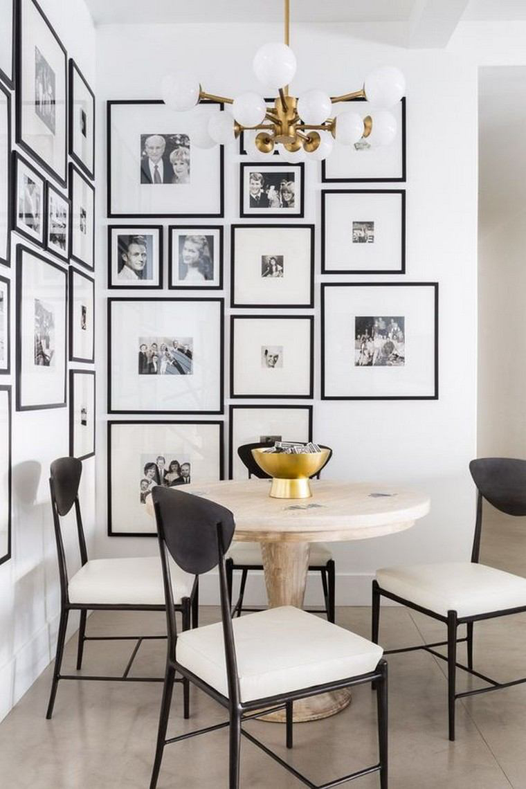 Dining Room With Gallery Wall