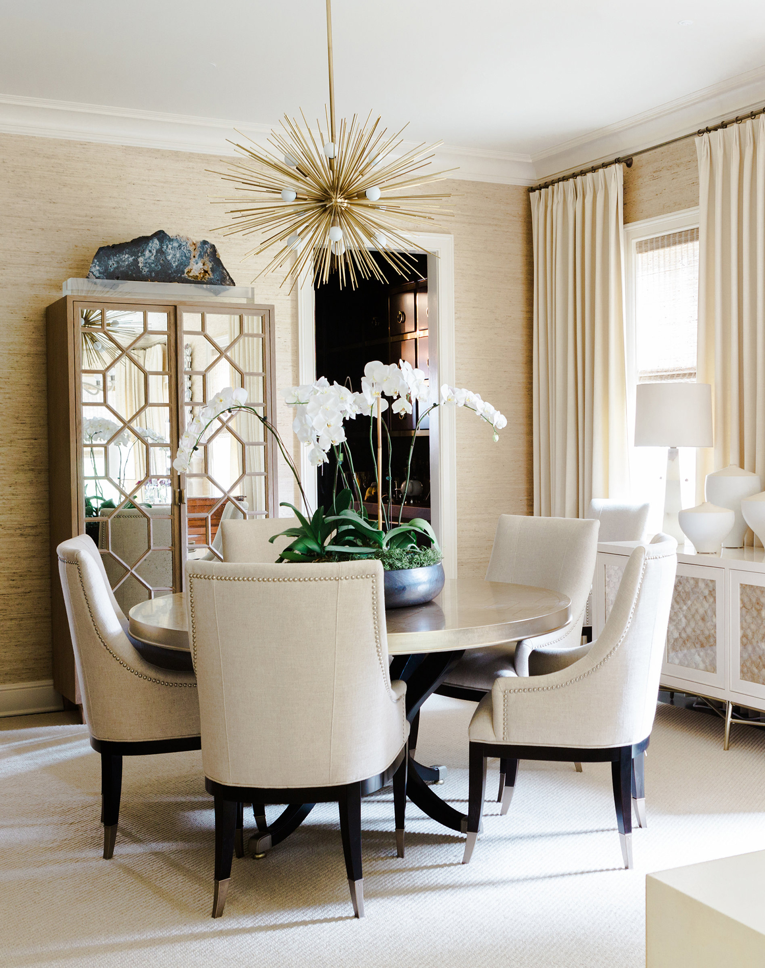 Anthony Michaels Neutral Dining Room
