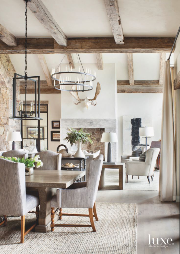 Rustic Mountain Dining Room