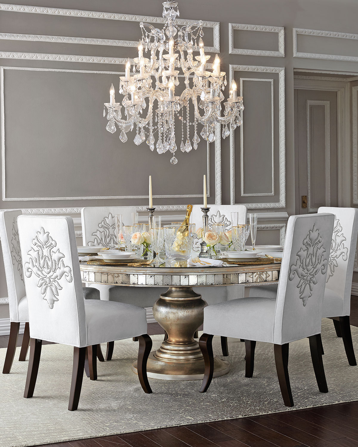 Glam Dining Room Ideas