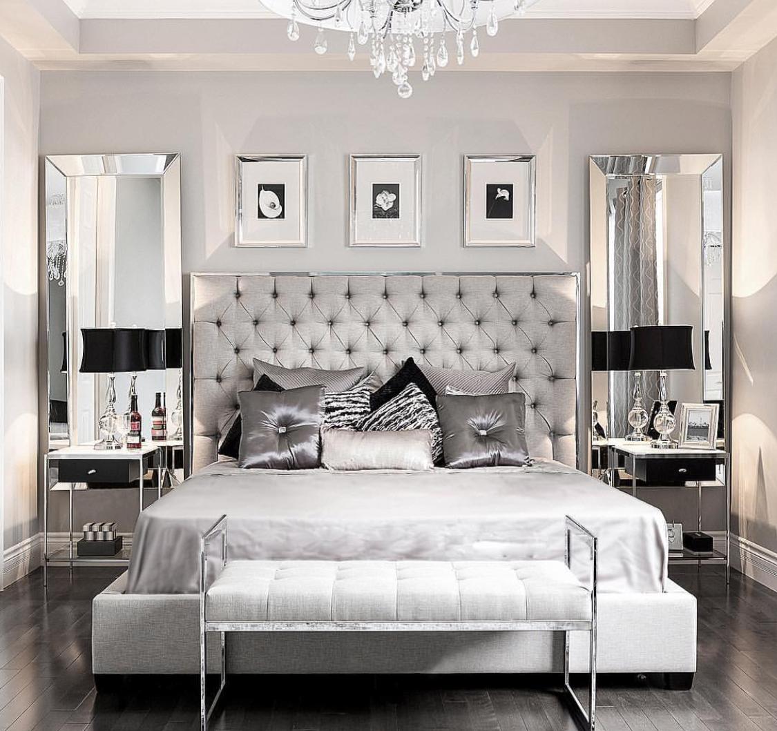 Modern Glam Bedroom