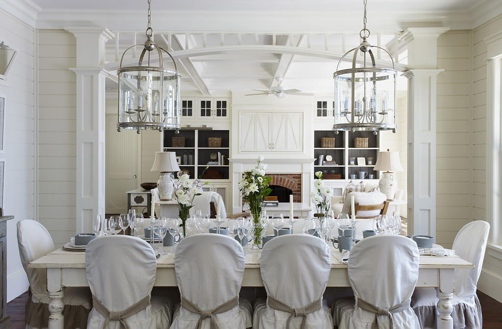 Muskoka Interiors Coastal Dining Room