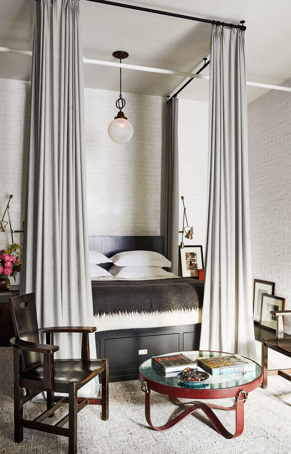 Eclectic Bedroom   Meg Ryan