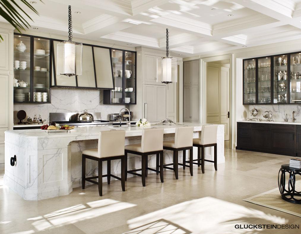 Large White Kitchen Ideas