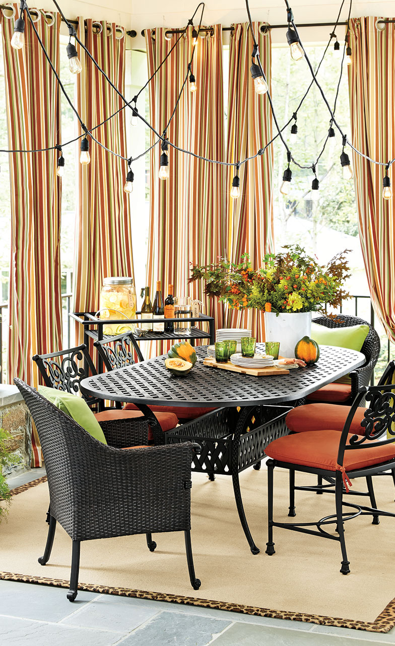 Colorful Outdoor Spaces