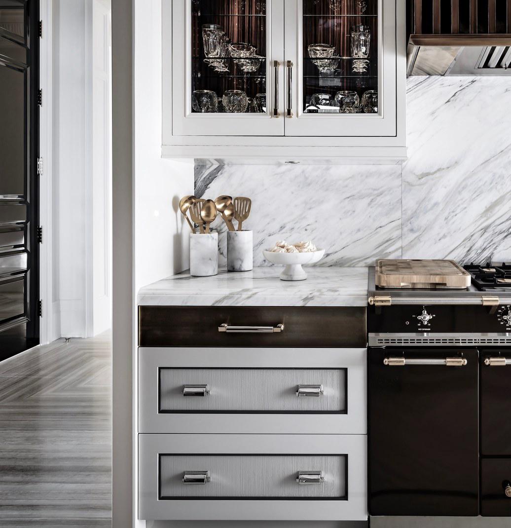 High-End Kitchen Finishes | Ferris Rafauli Design
