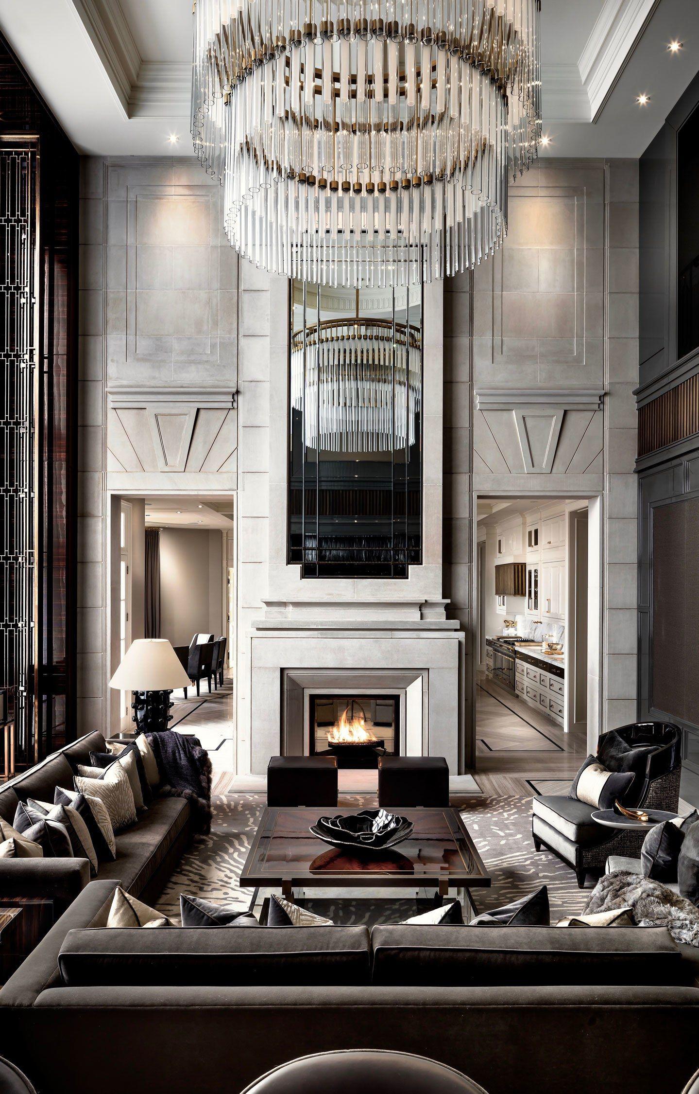 Ferris Rafauli Luxury Living Room Design