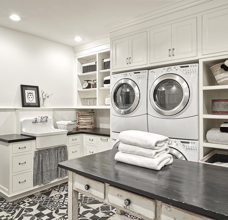 Modern Farmhouse Laundry Room