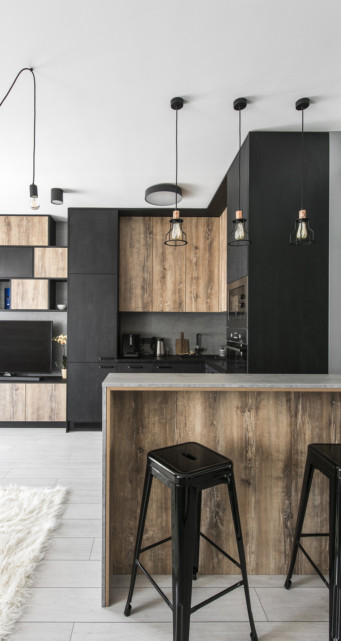 Modern Industrial Kitchen