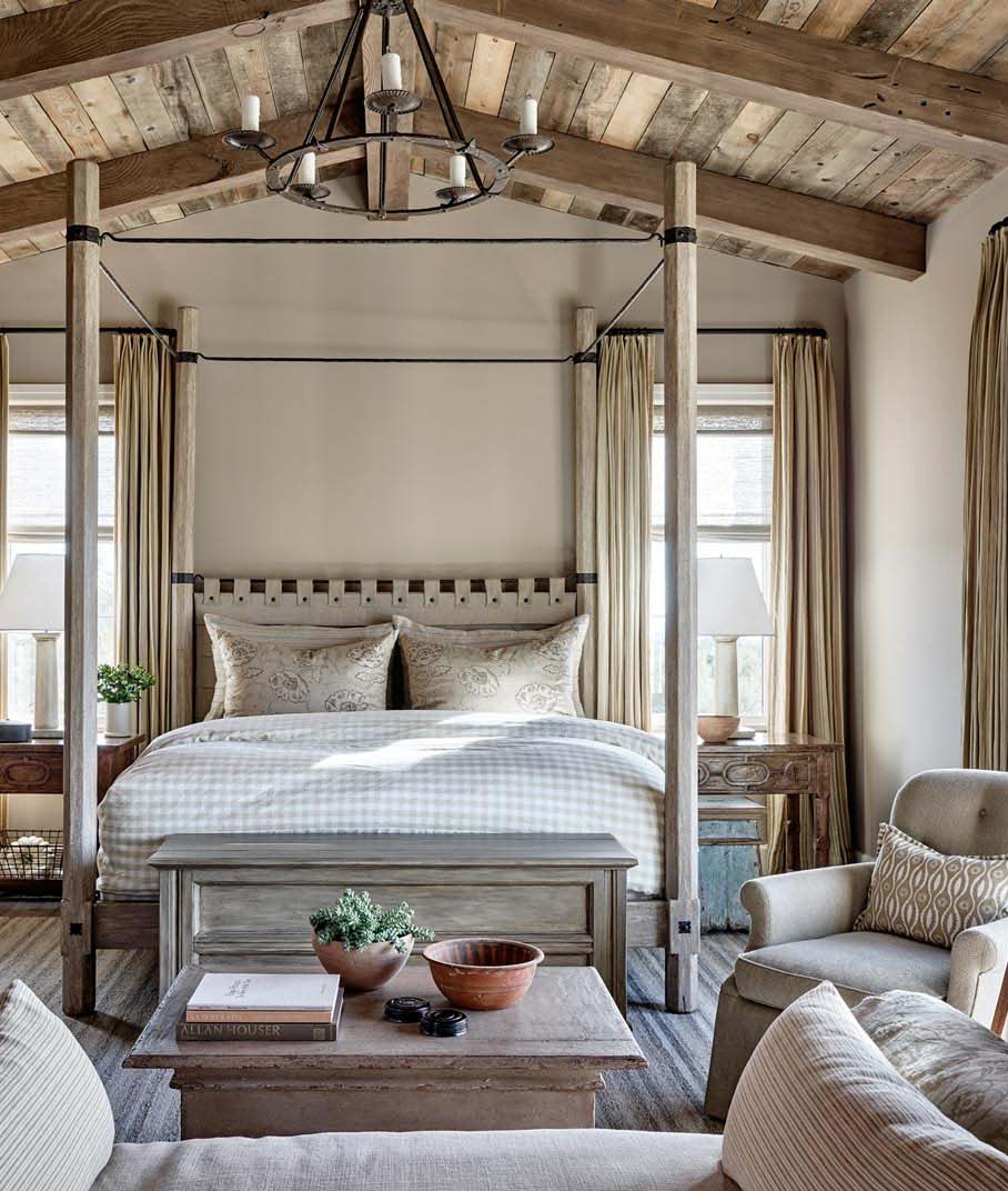 Modern Rustic Bedroom