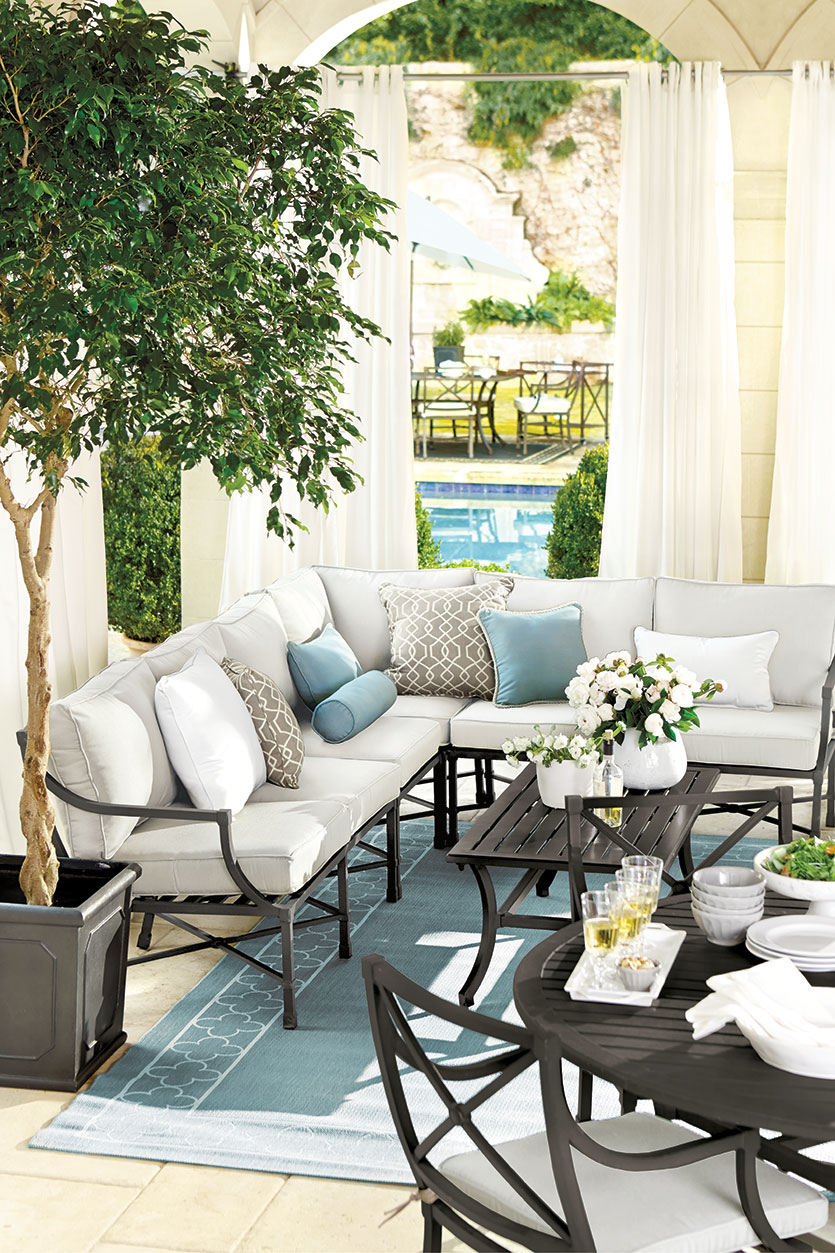 Outdoor Sectional Ideas