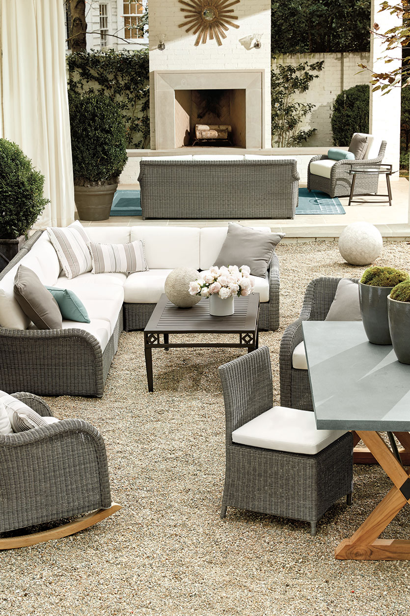 Neutral Outdoor Space
