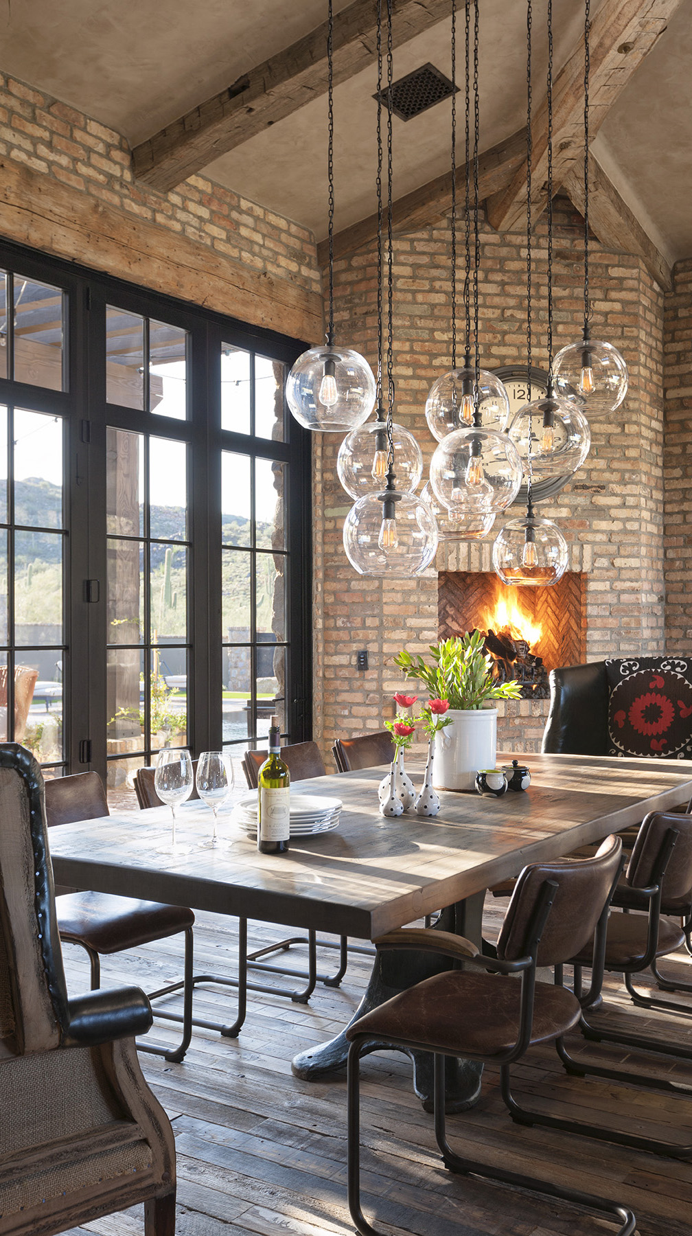 Rustic Eclectic Dining Room