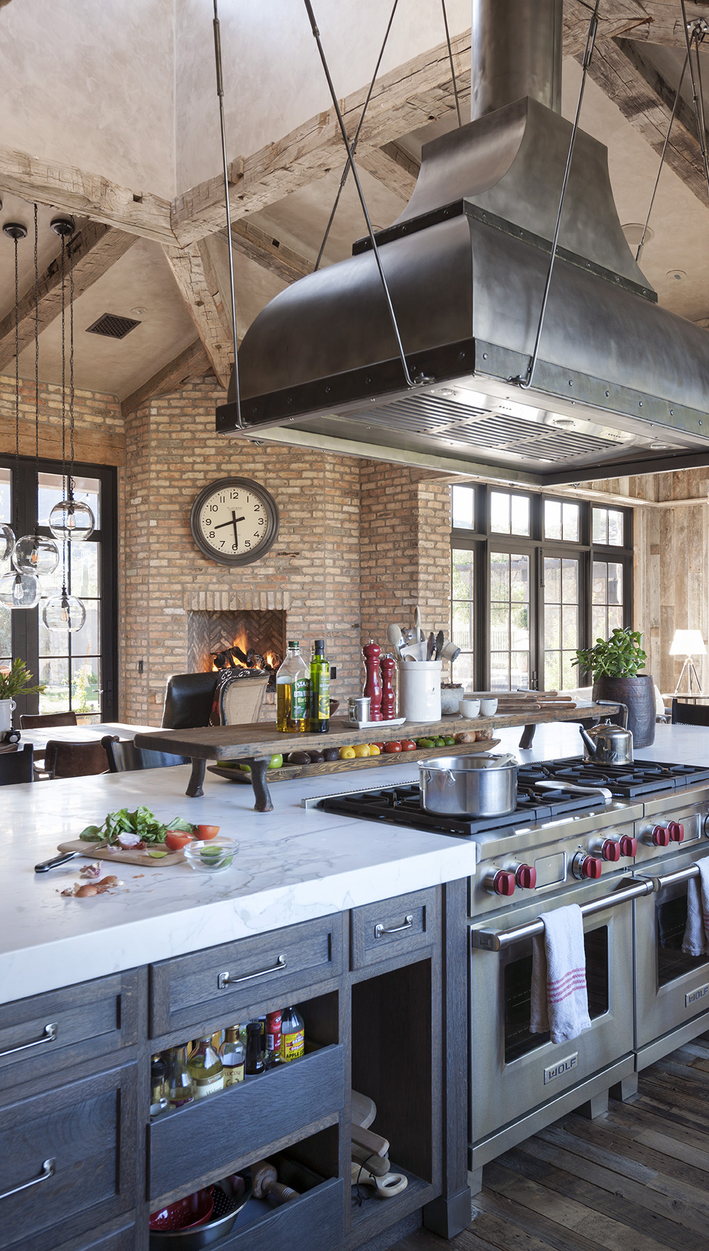 Rustic Eclectic Kitchen