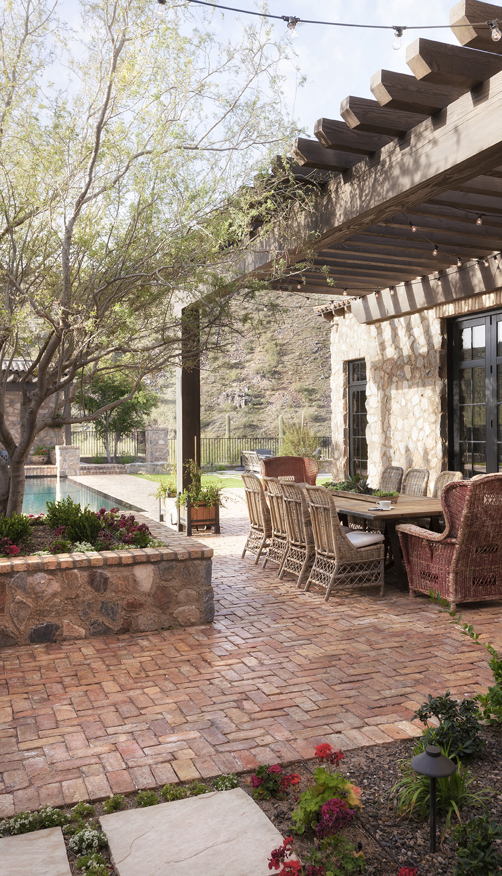 Rustic Eclectic Outdoor Space