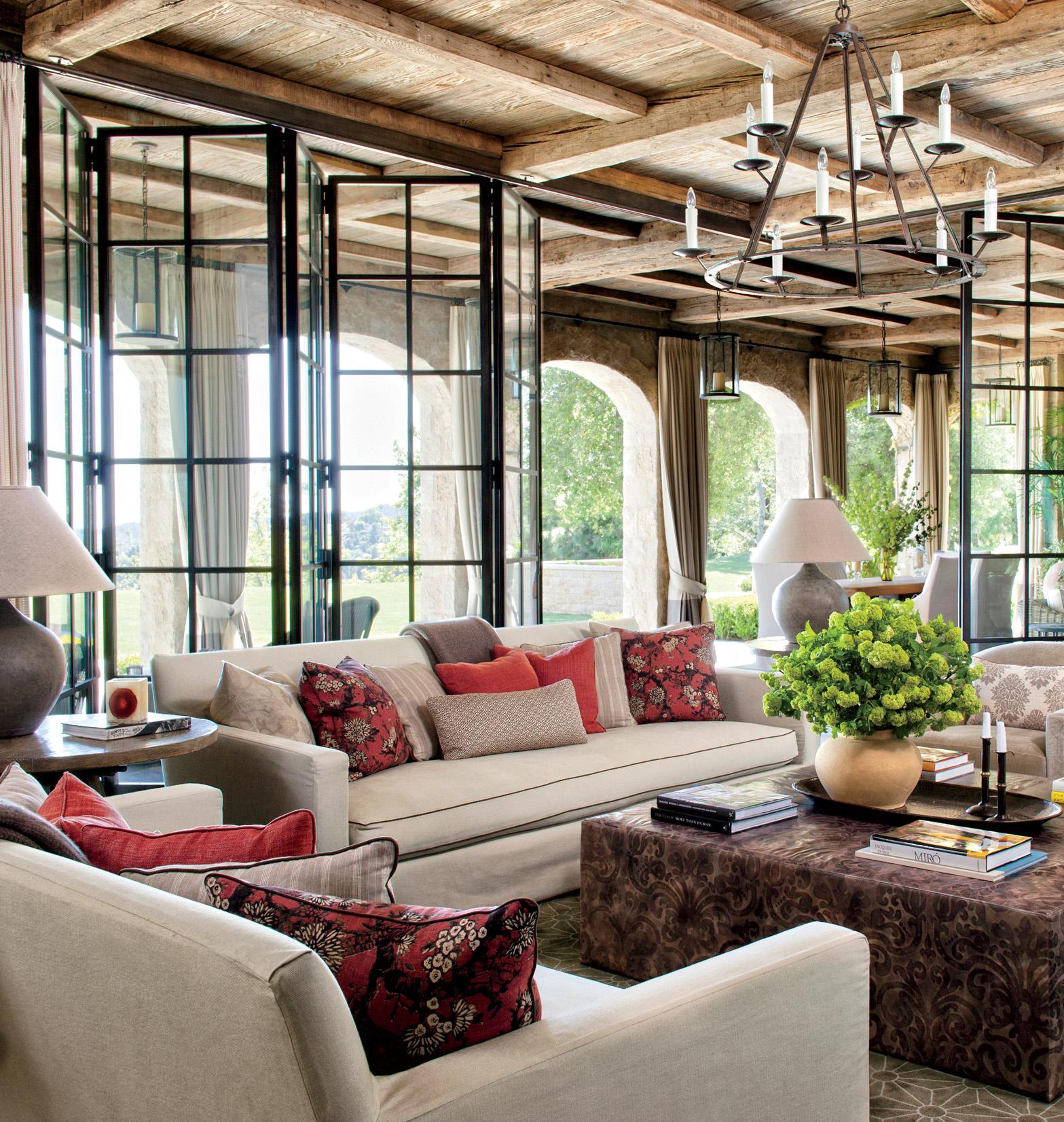 Rustic Indoor-Outdoor Space