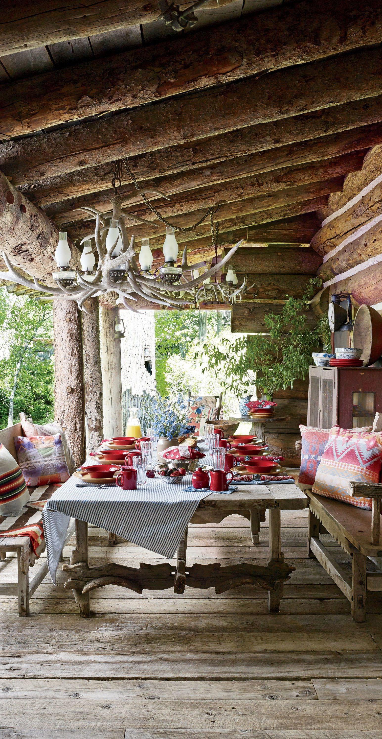 Rustic Outdoor Porch