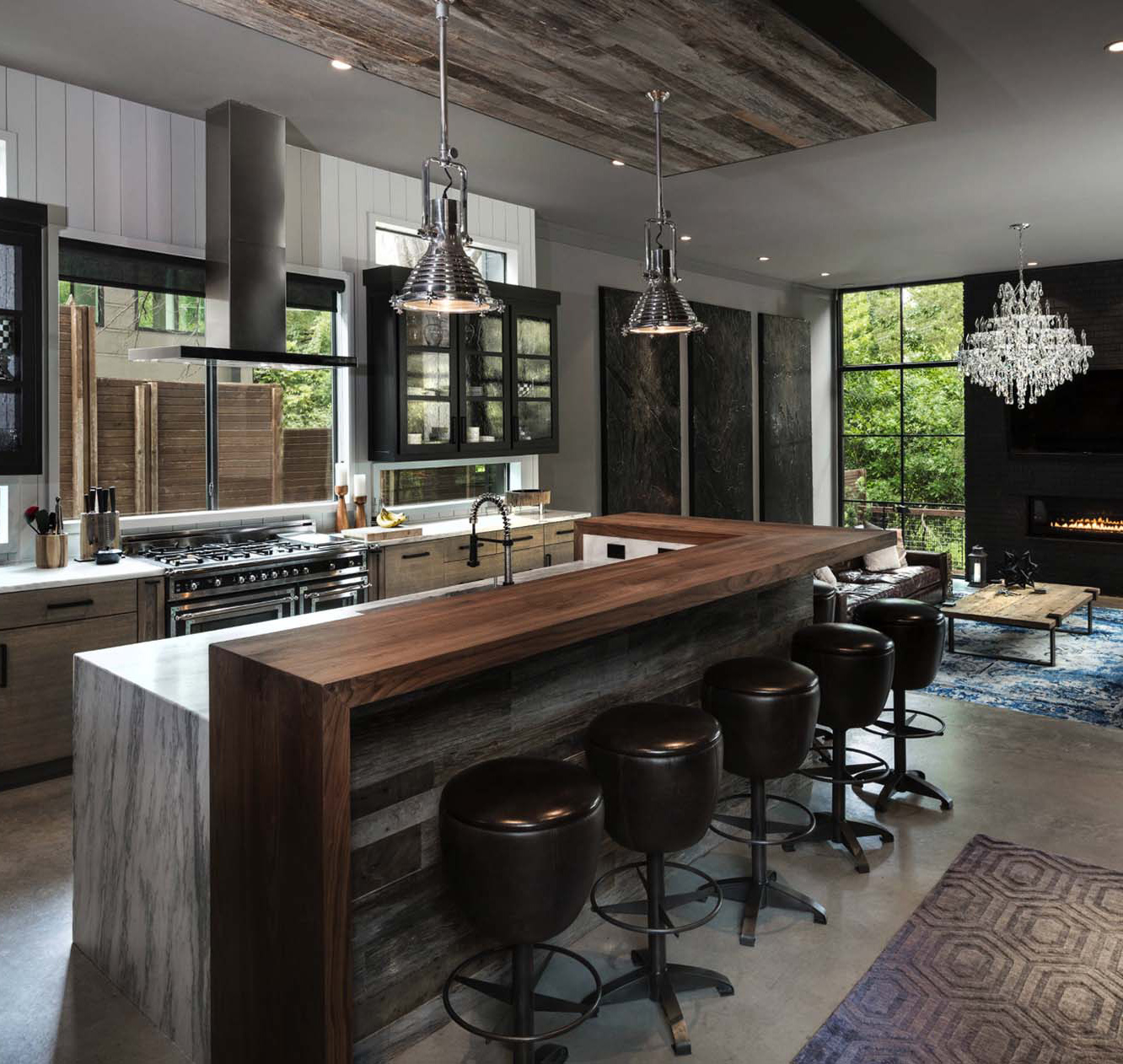 Urban Contemporary Kitchen