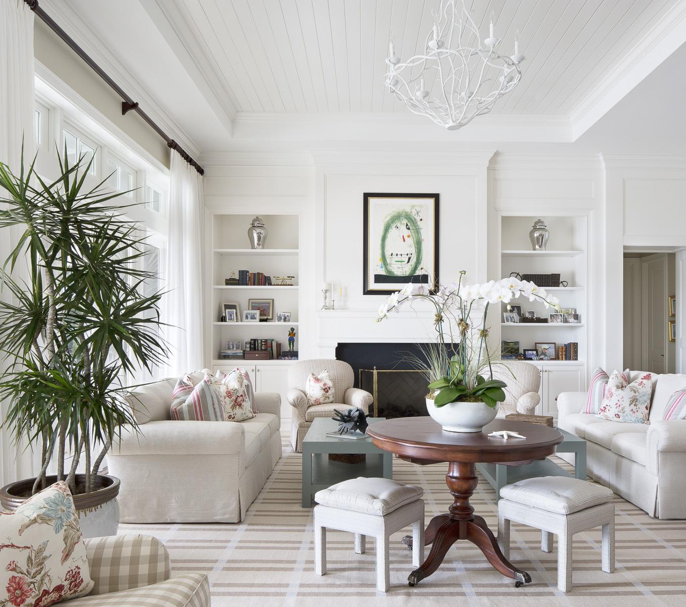 Well-Designed Living Room