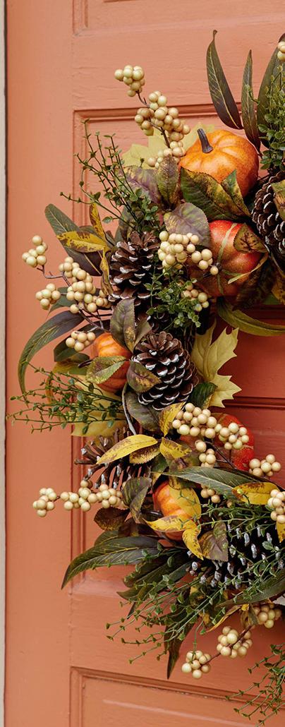 Autumn Abundance Foliage | Fall Decorating Ideas