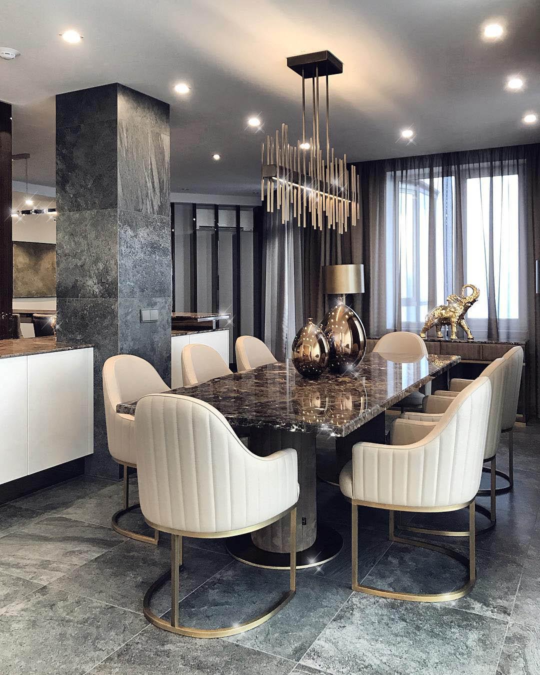 Constantin Frolov Interior Design   Luxury Dining Room