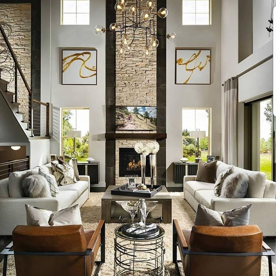 Toll Brothers Living Room
