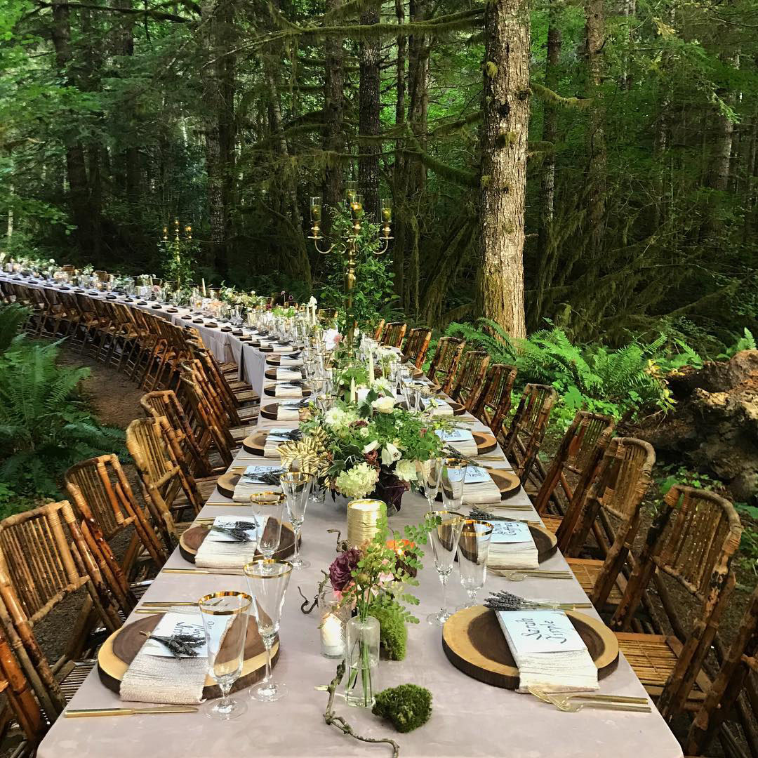 Enchanted Dinner in the Woods