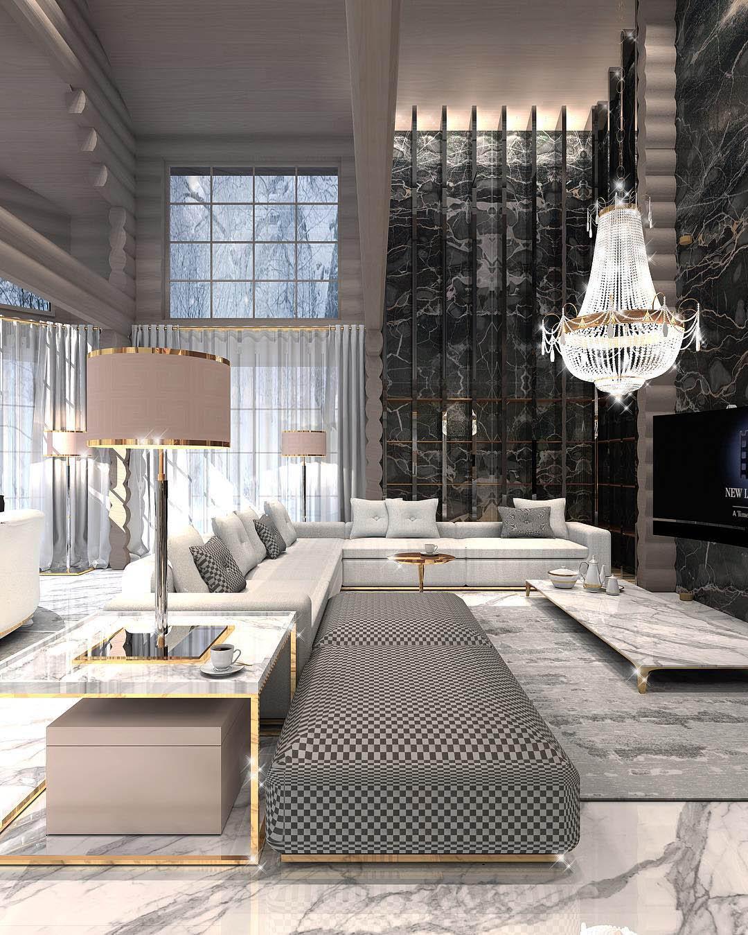 Constantin Frolov Interior Design | Glamorous Residential Interiors