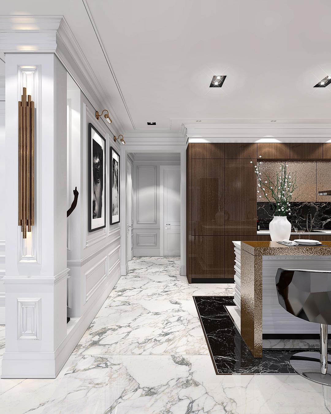 Glamorous Decorating Ideas   Constantin Frolov Interior Design