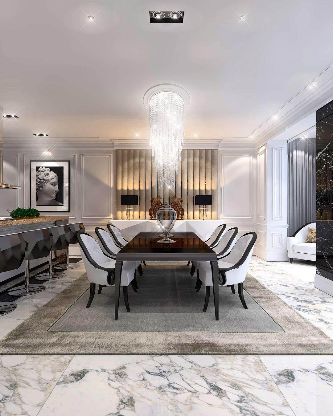 Glamorous Dining Room Ideas   Constantin Frolov Interior Design